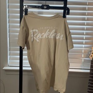 Young & Reckless Tan T-Shirt